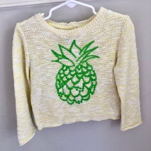 Other - Zara knit pineapple 🍍 top (kids) see size